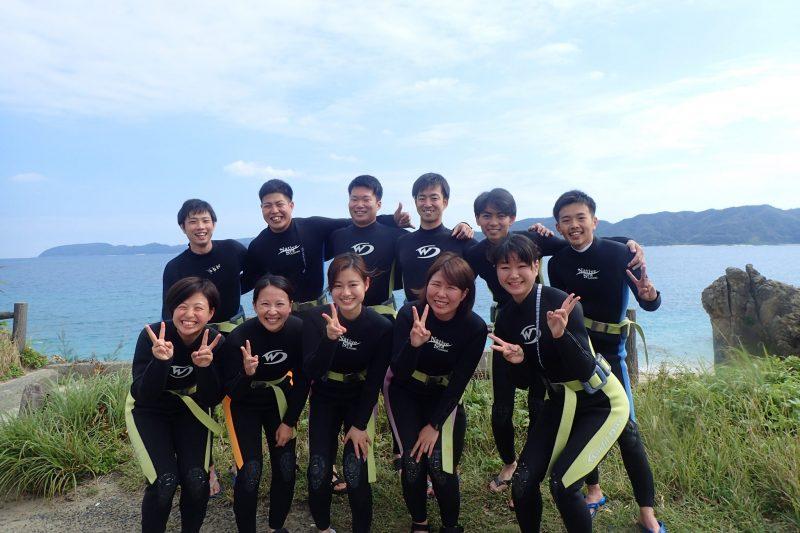 11名様で体験ダイビング!!