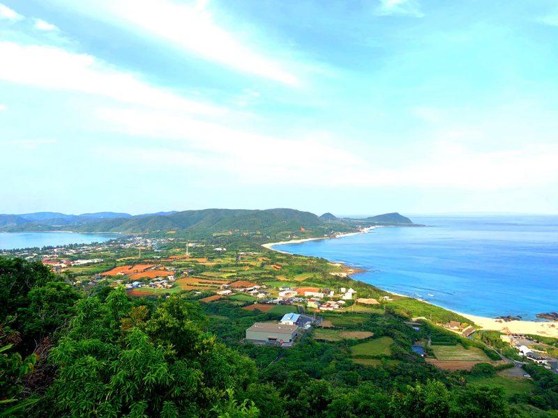 観光名所 二つの海がみえる丘