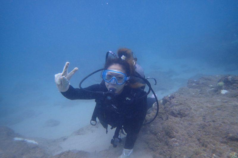 久しぶりに太平洋側の海で体験ダイビング!!