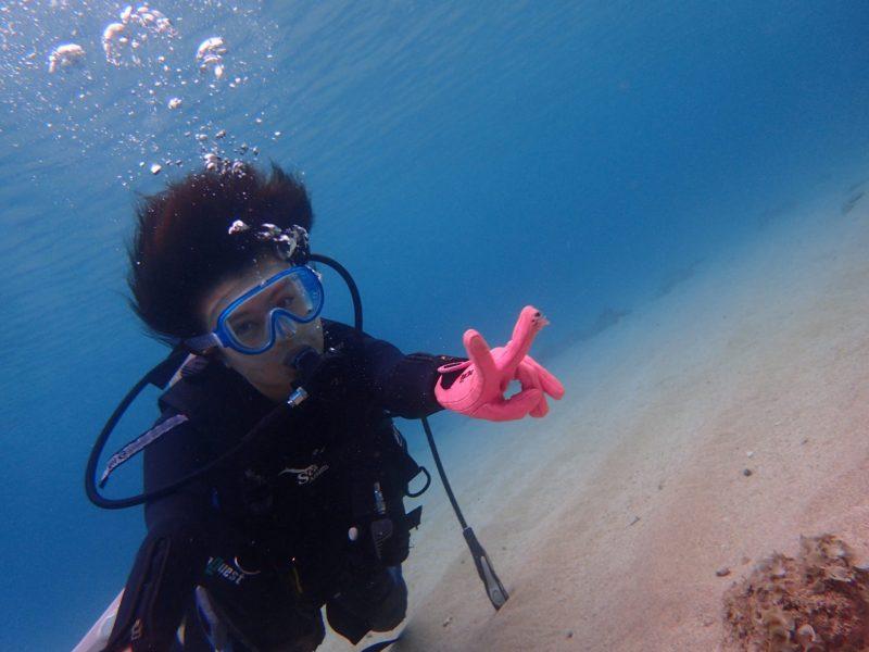 初めての体験ダイビング
